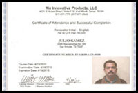 Lead Paint Cert